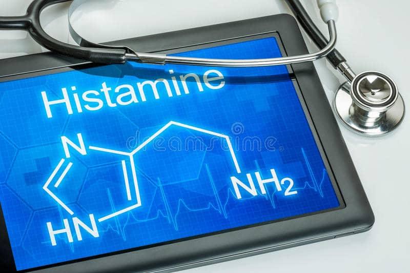 display-chemical-formula-histamine-tablet-40010753